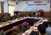 Arunachal: Governor addresses the annual conference of State Police