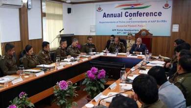 Photo of Arunachal: Governor addresses the annual conference of State Police