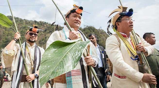 Arunachal: Khandu attends Nyokum Yullow celebration at Pitapool