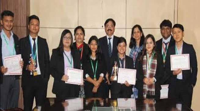 Assam: RGU students shine at the 35th Inter University, National Youth Festival 2019-20