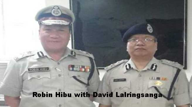 David Lalringsanga takes charge as New Nodal Officer from Robin Hibu