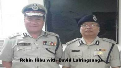 Photo of David Lalringsanga takes charge as New Nodal Officer from Robin Hibu