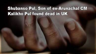 Photo of Shubanso Pul, Son of ex-Arunachal CM Kalikho Pul found dead in UK