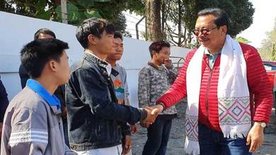 Photo of Arunachal: Chowna Mein urges youth to Shun drugs