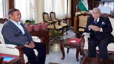 Photo of Arunachal: State Home Minister calls on the Governor