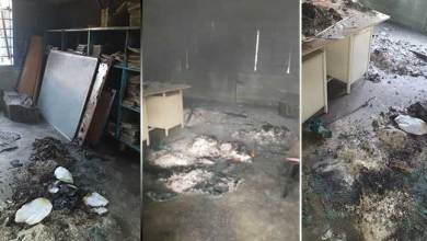 Photo of Arunachal: Karsingsa Secondary School's office room burnt down