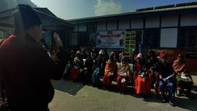 Photo of Arunachal: Garung Thuk organised Mega Health Camp at Shergaon and Rupa