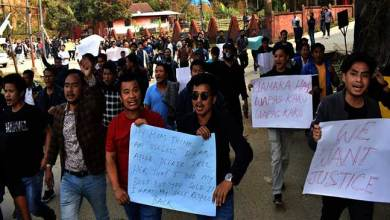 Photo of APSSB malpractice case: aspirants protest gheraod APSSB office