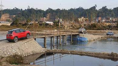 Photo of Itanagar: Admin regulates temporary bridge over Pachin river at Lekhi