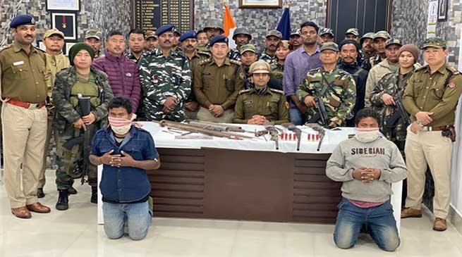 Arunachal: Illegal arms manufacturing unit busted, 2 held in Roing