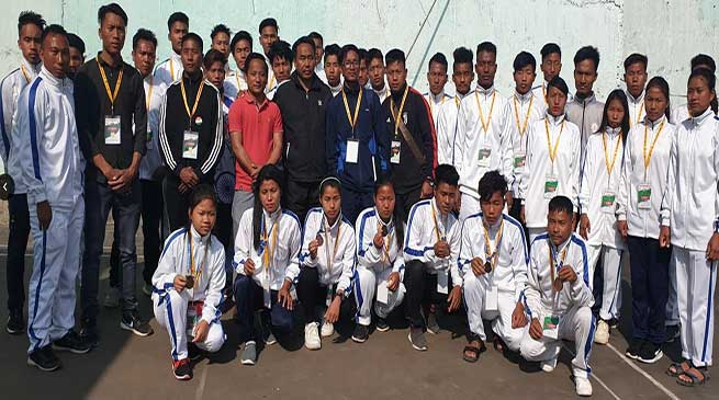Arunachal: Ngandam congratulates Longding district Olympic team