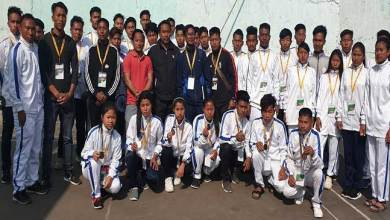 Photo of Arunachal: Ngandam congratulates Longding district Olympic team