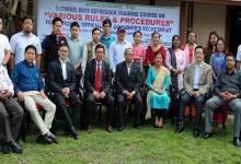 Arunachal: Refresher training course for Raj Bhawan Officials
