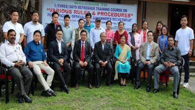 Photo of Arunachal: Refresher training course for Raj Bhawan Officials