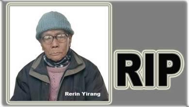 Photo of Arunachal: Social Worker Rerin Yirang passes away at 79
