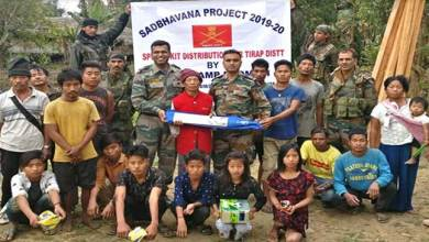 Photo of Arunachal:Amy distributes sports items under Khelo India mission