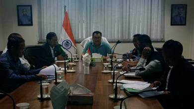 Photo of Arunachal: Chowna Mein reviewes the status of Miao to Vijoynagar PMGSY road