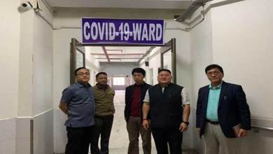 Photo of COVID-19 preparedness: Isolation ward setup at TRIHMS