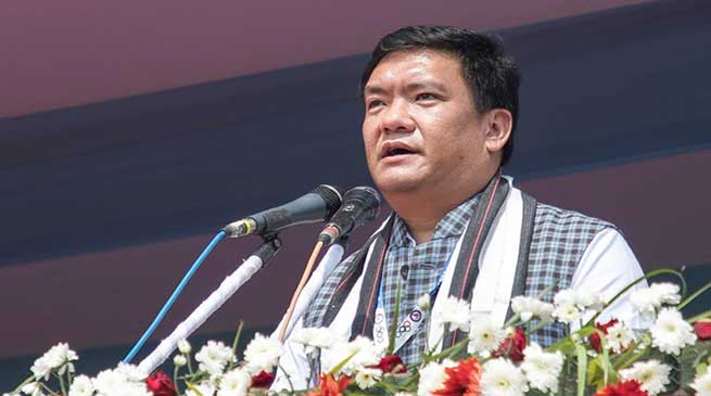 Pema Khandu offered to host the 2026 National Games in Arunachal Pradesh