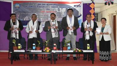 Photo of Arunachal: RGU conducts Workshop on 'Campus Placement and Career counseling for civil services'