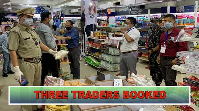 Itanagar: Three traders booked for overpricing water bottles, cold drink etc