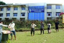 Meghalaya: MGU raises helping hand for the poor suffering due to lockdown