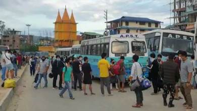 Photo of Arunachal: More than 300 people stranded in capital region left for their destinations