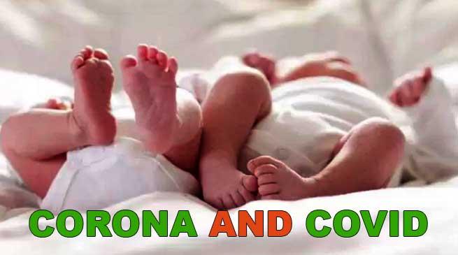 India: Twins born under lockdown in Raipur named Corona and Covid