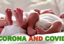 Photo of India: Twins born under lockdown in Raipur named Corona and Covid