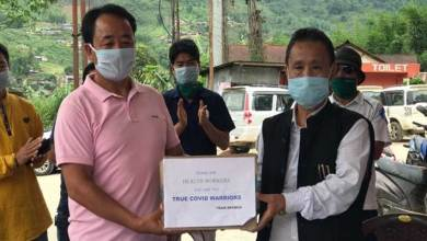 Photo of Arunachal: EKSWCO donates sanitizer and PPE kits