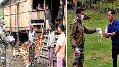 Photo of Arunachal: Army distributes Covid-19 prevention kits to the villagers