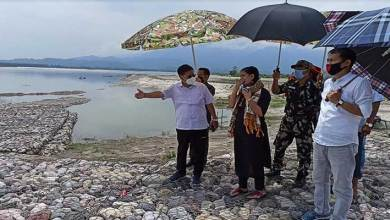 Photo of Arunachal: East Siang DC inspected mega flood control project to protect Lower Mebo villages