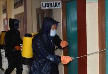 Itanagar: IMC team continue sanitizing every corner of capital complex