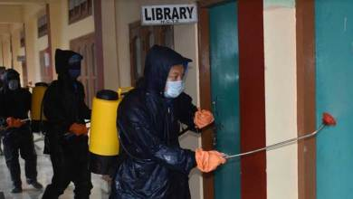 Photo of Itanagar: IMC team continue sanitizing every corner of capital complex