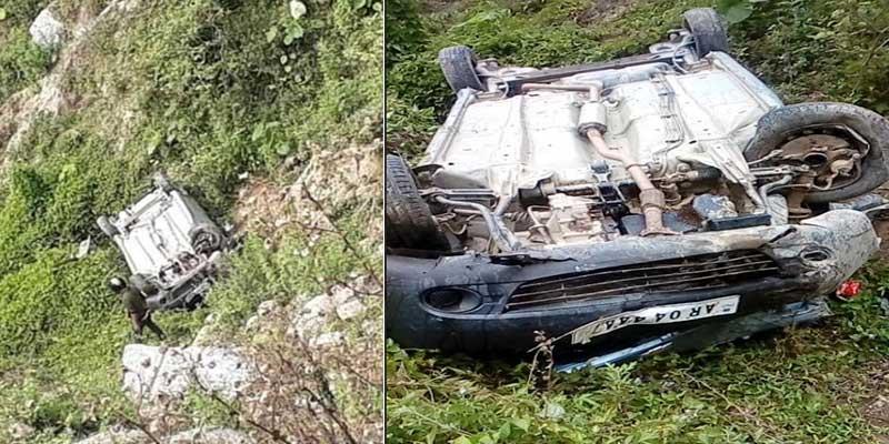 Arunachal: 1 dead, 3 injured after car falls into deep gorge near Sagalee