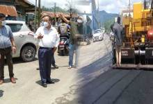 Itanagar- Pilot project of Blacktopping roads using waste plastics starts