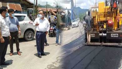 Photo of Itanagar- Pilot project of Blacktopping roads using waste plastics starts