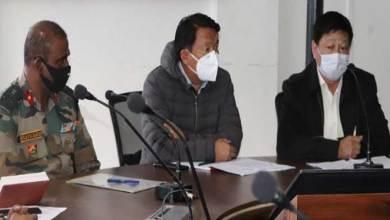 Photo of Arunachal: TawangMLA took a review meeting on COVID-19