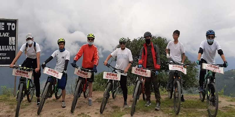 Arunachal: Tawang Riders Club observes 'World No Tobacco Day'