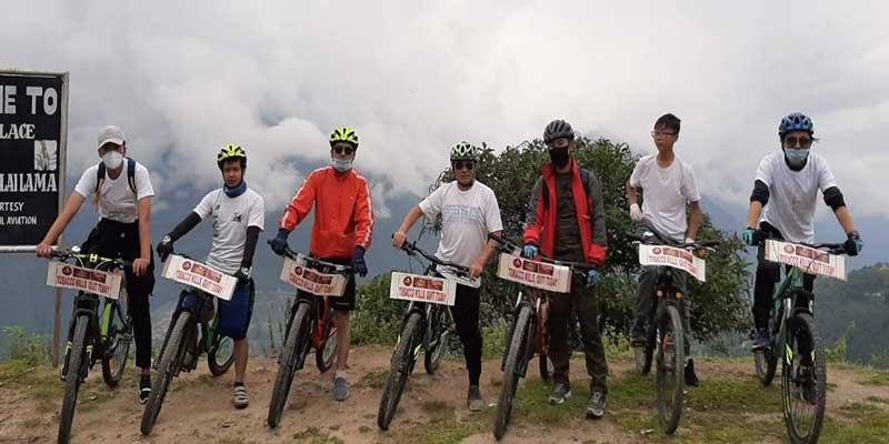 Arunachal: Tawang Riders Club observes 'World No Tobacco Day'