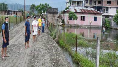 Photo of Arunachal: Locals begins repairing of 1.5 KM approach road to United Colony