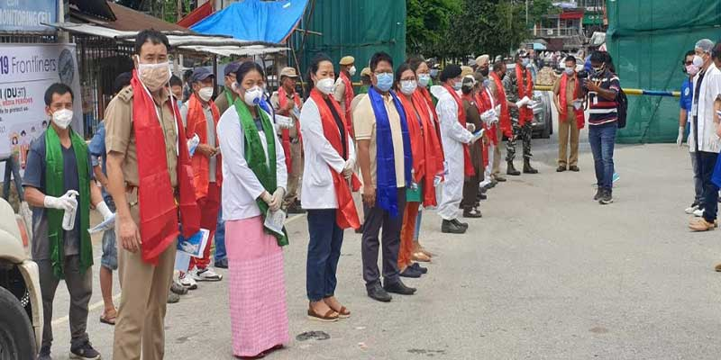 Arunachal: DUA salutes frontline workers fighting against Covid-19