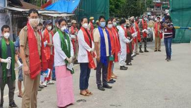 Photo of Arunachal: DUA salutes frontline workers fighting against Covid-19