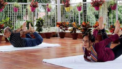 Photo of Arunachal: Governor and his wife participate in IDY from home