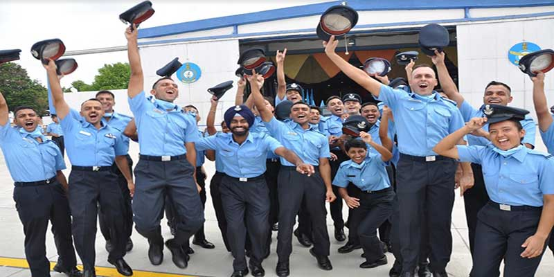 IAF inducts young leaders at the combined graduation parade held at Air Force Academy