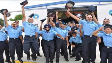 Photo of IAF inducts young leaders at the combined graduation parade held at Air Force Academy
