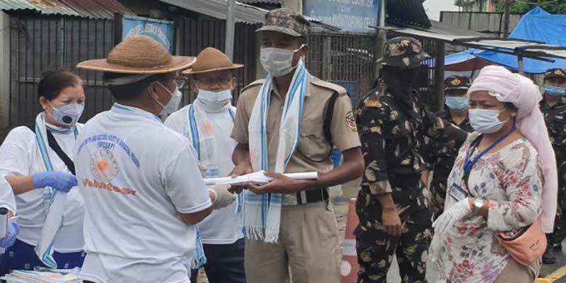 Arunachal: IFCSAP motivates frontline workers at Gumto and Banderdewa checkgates