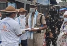 Photo of Arunachal: IFCSAP motivates frontline workers at Gumto and Banderdewa checkgates