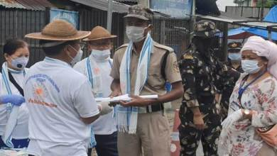 Photo of Arunachal: IFCSAP motivates frontline workers at Gumto and Banderdewa checkgates