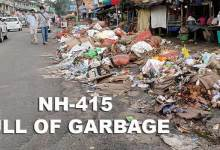 Itanagar- IMC faces fund crunch, Lifting of garbage badly affected